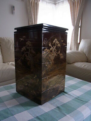 A Elegant Japanese Antique MAKIE BOX