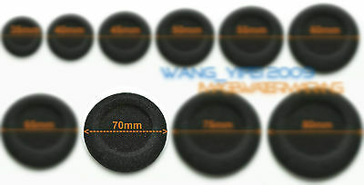 10x Thick New 70mm Replacement Cushion Foam Ear Pad Sponge Headphones 7cm 2.75""