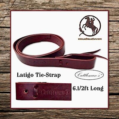 Premium Leather Latigo Cinch Tie-Strap For Your Western Saddle