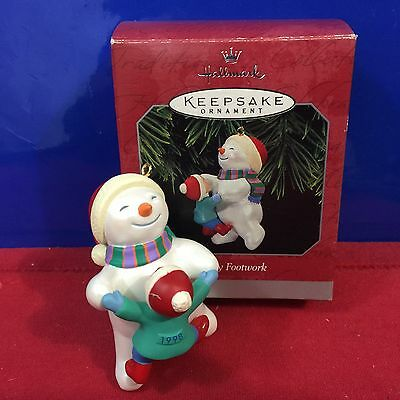 Hallmark Ornament Fancy Footwork 1998 New