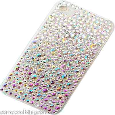 New 3D Bling Delux Diamante Stylish Clear Mobile Phone Case Cover For Htc Models