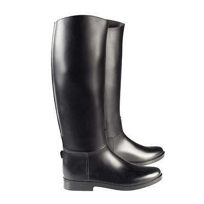 Horze Chester Rubber Synthetic Long Horse Riding Tall Boots