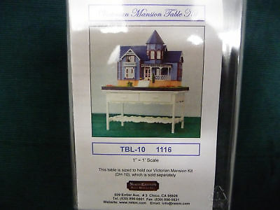 1/12th scale Miniature Dollhouse Victorian Mansion Wood TABLE Kit by NorthEaster