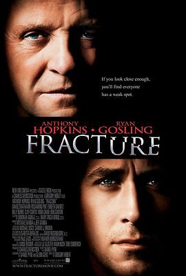 FRACTURE 27x40 D/S Original Movie Poster One Sheet Ryan Gosling Anthony Hopkins