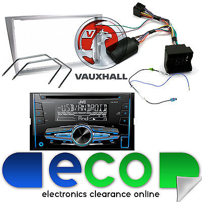 Vauxhall Signum 2006 JVC CD Stereo Steering Wheel Interface GUN METAL