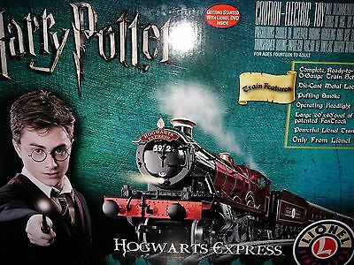 New Lionel Harry Potter Hogwarts Express O Gauge Electric Train Set 7-11020