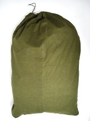 """Duffel Laundry Bag Military Cotton 36"""" x 22""""  Made From US Chemical Pants New"""