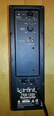 Infinity TSS-1100 or TSS-1200 Powered Subwoofer Amplifier Plate Repair Service