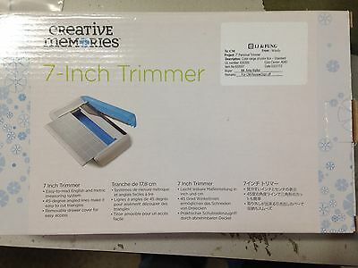 "Creative Memories 7"" Personal Trimmer  Paper Cutter Gently Used"
