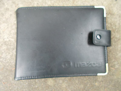 Mazda Black Plastic Wallet For Vehicle Documents Etc