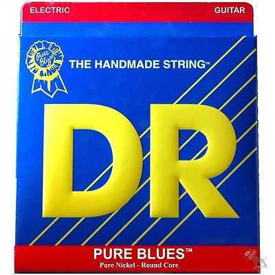 3-Sets DR Strings PHR-11 Pure Blues Heavy Nickel Electric Guitar Strings (11-50)