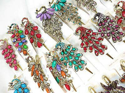 US Seller-lot of 10 vintage antique style decorative hair clips women gift