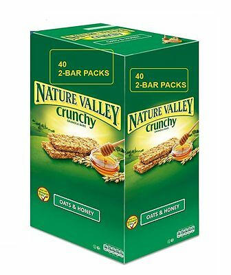 Nature Valley Crunchy Granola Bars Oats Honey  Packs (2 per pack) 1 5 10 20 40