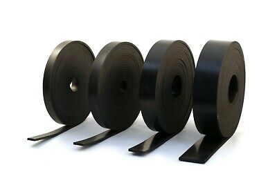 RUBBER STRIP 4.0mm thick  - BLACK GENERAL PURPOSE SOLID NEOPRENE