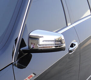 MERCEDES BENZ CL CLASS 2 DOOR COUPE W216 NEW CHROME MIRROR LIGHT TRIMS 2009 on