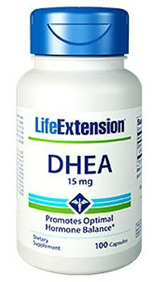 LIFE EXTENSION, DHEA 15mg - 100 Capsules