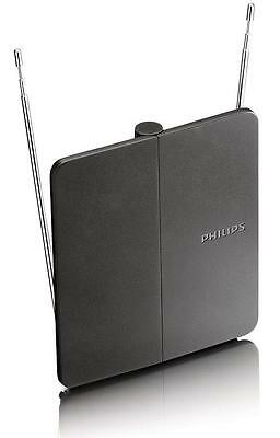 Philips Indoor Digital TV Antenna Passive HDTV/UHF/VHF Signal Easy Plug and Play