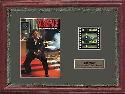 Scarface Al Pacino Framed 35Mm Film Cell