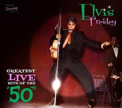 Elvis Presley - Greatest Live Hits Of The 50's NEW CD Digi