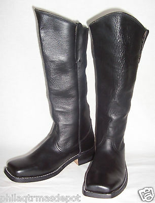 Cavalry Boots - Sizes 8-13 - Black Leather - Highest Quality! - Civil War