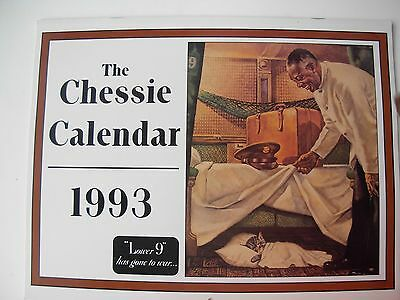 """Chessie Calendar 1993 """"Lower 9"""" has gone to war... The Official One"""