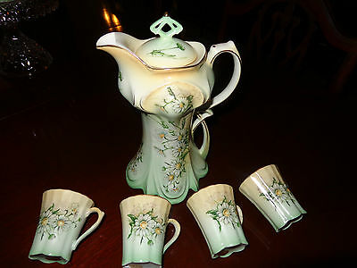 Limoges Chocolate China set made in Japan