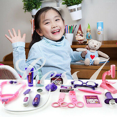 Hot Sale Kids Pretend Doctor's Medical Play Set & Carry Case Kit Toy Universal E