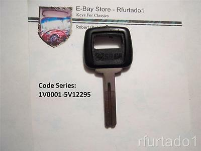 High Security Key Blank for Volvo 1988 to 1998  (See Applications)  S66NNP/NE66P