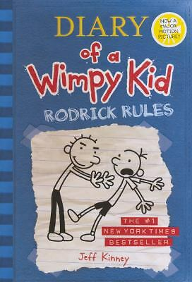 Rodrick Rules 2 by Jeff Kinney (2008, Hardcover, Prebound)