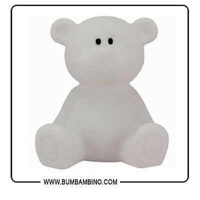 Lampada Notte Led Orso Bianco – New Classic Toys - Luce Notturna Camera Bambina