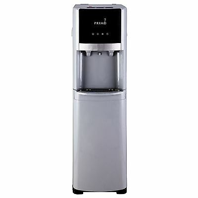 Primo Pro-Select Bottom-Load Hot and Cold Water Dispenser Silver/Stainless Steel
