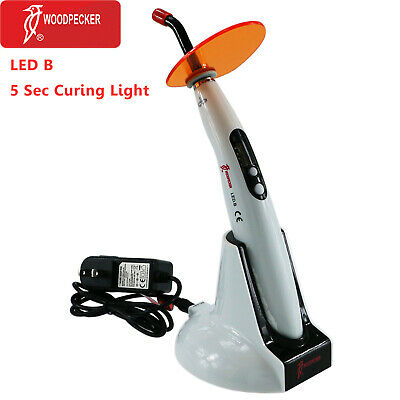 Original Woodpecker LED B Dental Wireless LED Curing Light LAMP 1400mw 100%