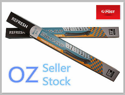 "Pair of Premium Frameless Wiper Blades For Ford Focus 2012 on 28""28"""