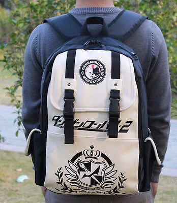 Dangan Ronpa danganronpa school double-breasted backpack shoulder bag bags 18""