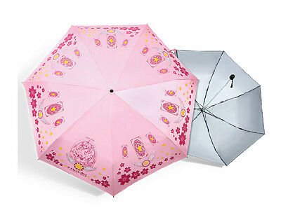 Cardcaptor Sakura folding umbrella telescopic umbrella easy take new