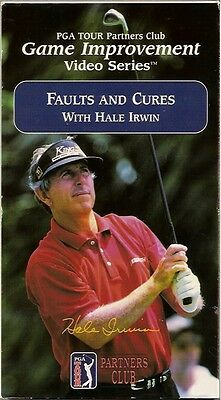 Faults And Cures With Hale Irwin (VHS, 2003) PGA Golf Tour Partners Club