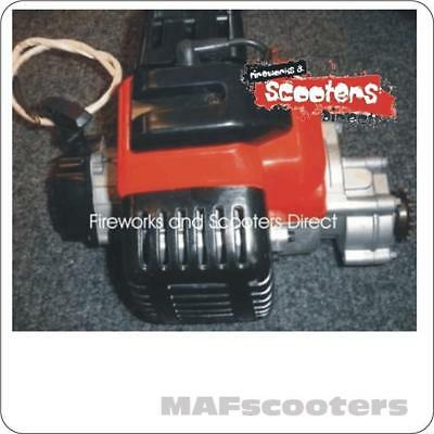 New petrol scooter goped Engine and Gear box/carb/ exhaust pipe complete 49cc