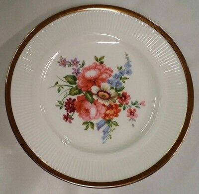 "Crown Staffordshire Set Of 11 Dessert Or Salad Plates 7"" Fine Bone China England"