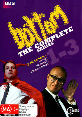 Bottom: The Complete Series (1 - 3)  - DVD - NEW Region 4