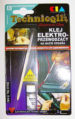 Technicqll Electronic glue 2g R-082 Rear window defogger repair electric use **