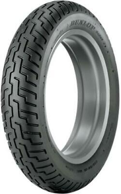 New Dunlop D404 Motorcycle Tire Front 100/90-19 BLK 19 Tubeless 32NK-32 31-0504