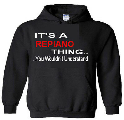 It's An Repiano Thing Hoodie