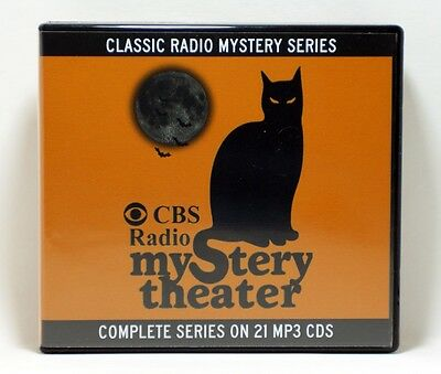 CBS Mystery Theatre OTR - COMPLETE SERIES on 21 MP3 CDs WITH CASE!  Massive Set!