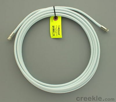 Wilson 950620 20' White RG6 Low Loss Coax Cable (F-Male to F-Male) 950620