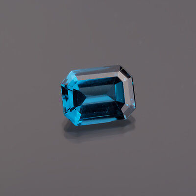 grün-blau Spinelle 12,8 x 9,0 mm 8-Eck 5,76 Ct. blue Spinell / Synthese (041)