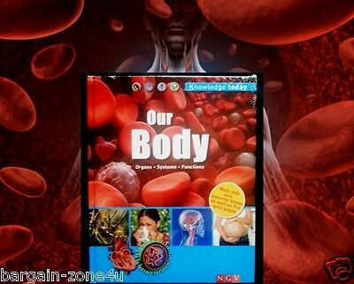 Our Body Kids Children Learning & Educational English Hardback Knowledge Book