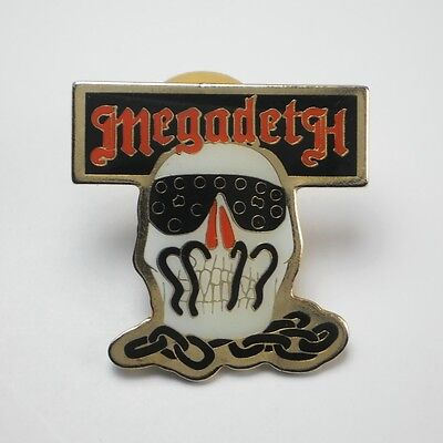 Megadeth Killing Is My Business Pinback Button / Pin - high quality cloisonne