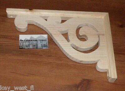 "Victorian Wood Gingerbread ~ ""Serendipity"" Porch & House Trim Bracket #1 by PLD"