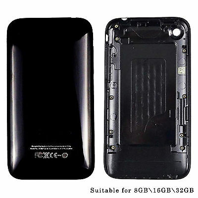 For iPhone 3G 3GS 8GB 16GB 32GB  Replace Battery Housing Cover Rear Back Cover