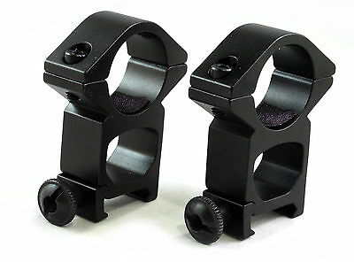 1 inch High Profile See Through Rifle Scope Rings